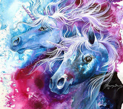 Unicorn Diamond Painting Kit - DIY Unicorn-42