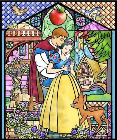 Snow White and the Seven Dwarves Diamond Painting Kit - DIY
