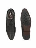 GUN - 1206 BLACK LEATHER SHOES