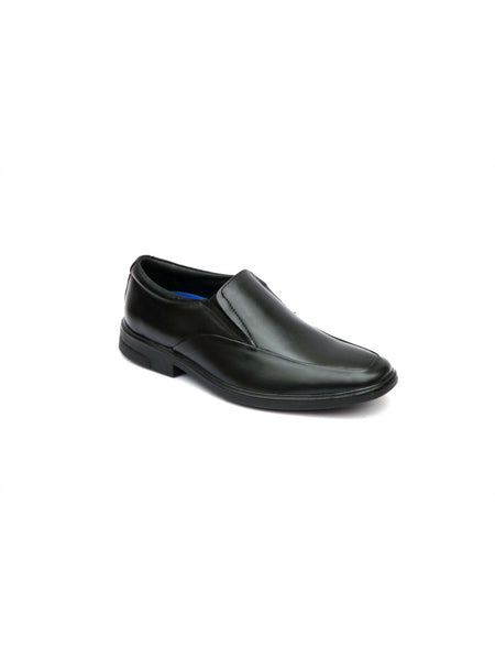 MACRON - 1353 BLACK LEATHER SHOES