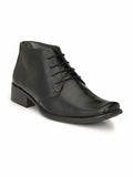 LEO - 1425 BLACK LEATHER SHOES