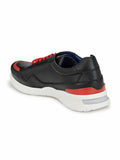 207 BLACK & RED RUNNING SHOES