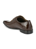 BESLAY - 2210 BROWN LEATHER SHOES