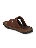 RENAULT - 2302 TAN LEATHER SLIPPER