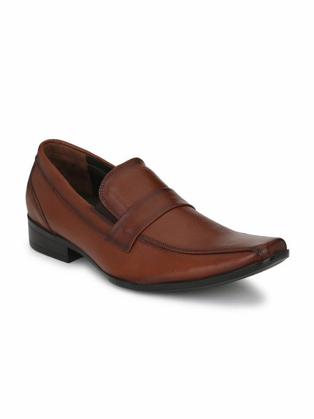 SCORE - 2802 TAN LEATHER SHOES