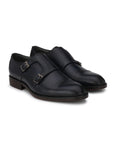 PREMIUM - 3001 BLUE FORMAL MONK SHOES