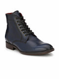 PREMIUM - 3003 BLUE LEATHER SHOES