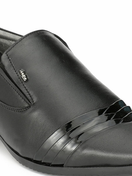 ZUSI - 3202 BLACK LEATHER SHOES