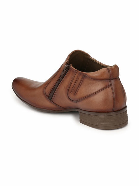 LEVIS - 3604 BROWN LEATHER SHOES