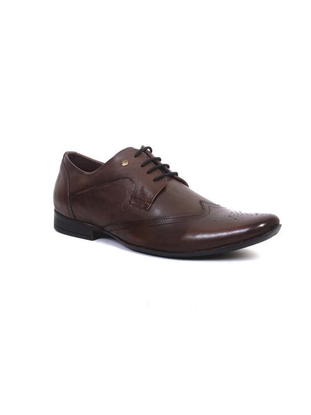 PEPE - 3701 BROWN LEATHER SHOES