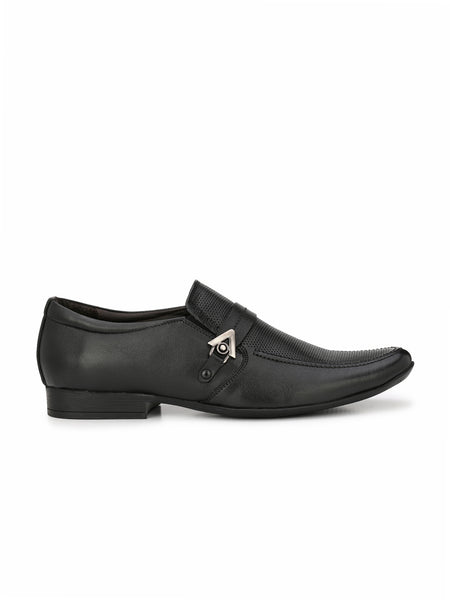 PEPE - 3702 BLACK LEATHER SHOES