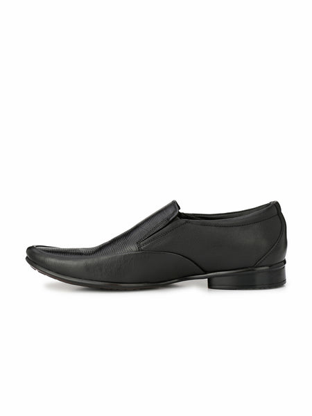 PEPE - 3704 BLACK LEATHER SHOES