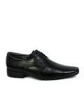 STEPHIN - 4001 BLACK LEATHER SHOES