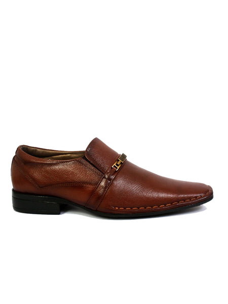 STEPHIN - 4002 TAN LEATHER SHOES