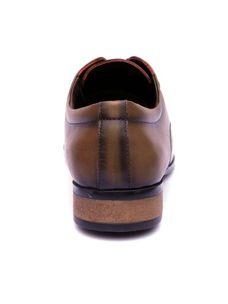 WESLEY - 4552 TAN LEATHER SHOES