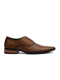 WESLEY - 4566 TAN LEATHER SHOES