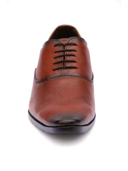 WESLEY - 4566 TOTONE LEATHER SHOES