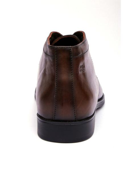 CELERIO - 4602 BROWN LEATHER SHOES