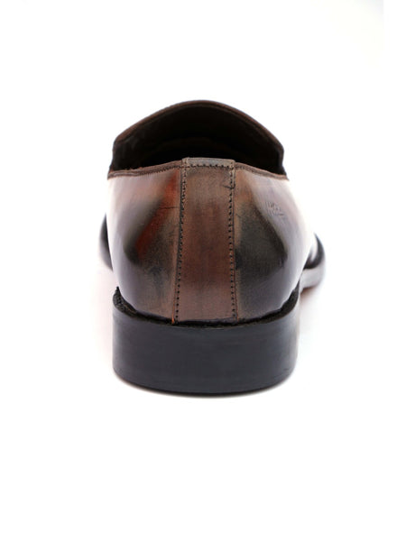 HANDCRAFT - 4809 BROWN LEATHER SHOES