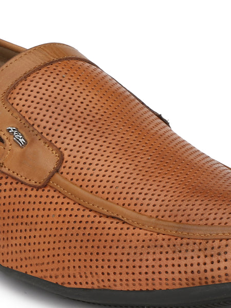 KARTIS - 5302 TAN LEATHER SHOES