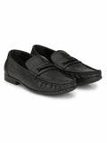 KARTIS - 5306 BLACK COMFORT LEATHER SHOES