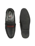 KARTIS - 5306 BLACK+RED COMFORT LEATHER SHOES