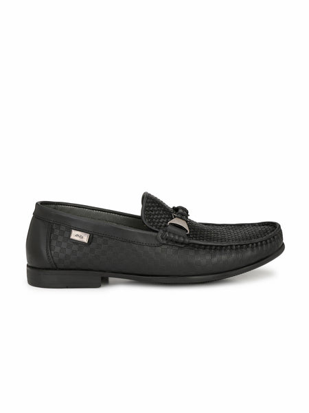KARTIS - 5308 BLACK LEATHER SHOES