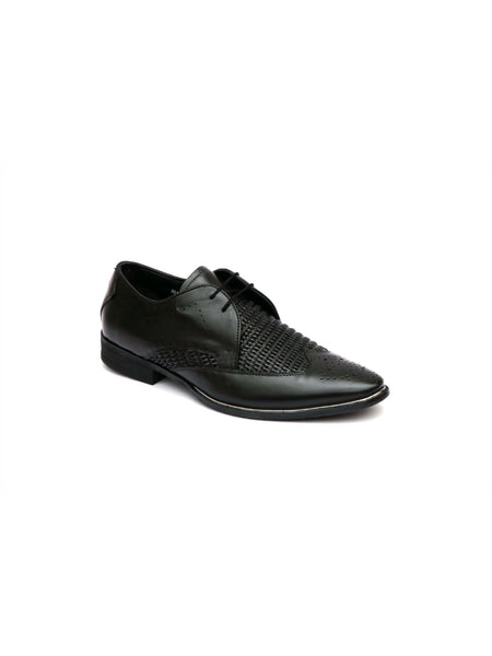 TULIP - 5901 BLACK MATE LEATHER SHOES