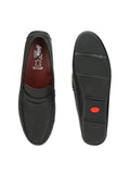 LOAFER - 6118 BLACK LEATHER SHOES