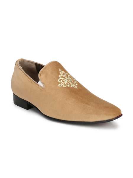 PAULO - 6408 BEIGE LEATHER SHOES