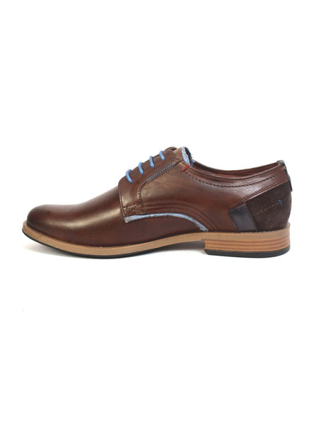 TORRESI - 6509 BROWN LEATHER SHOES