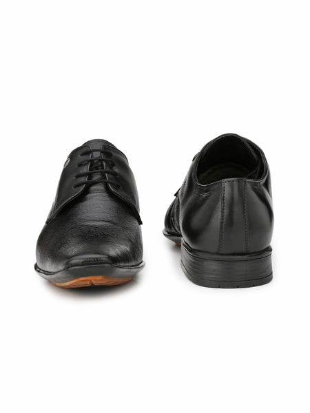 MARCO - 7001 BLACK LEATHER SHOES