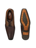 MARCO - 7001 BROWN LEATHER SHOES