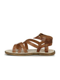 7604 TAN LEATHER SANDALS