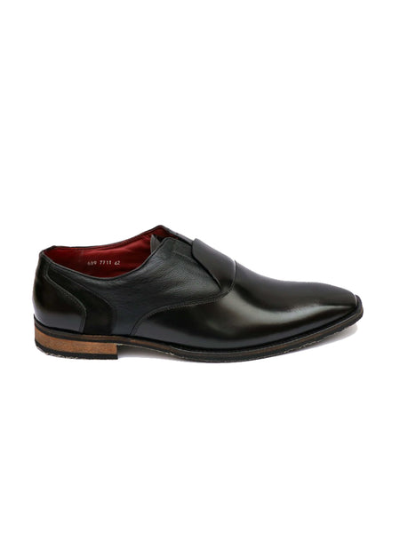 START - 7711 BLACK LEATHER SHOES