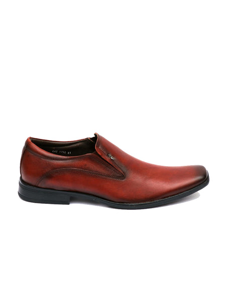 SALMANDAR - 7752 TAN LEATHER SHOES