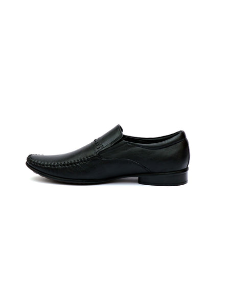 PAVERS - 7804 BLACK LEATHER SHOES