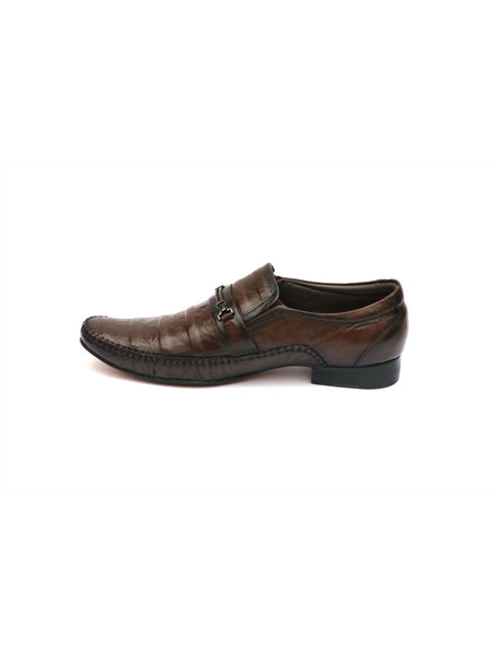 JAMES - 7860 BROWN LEATHER SHOES