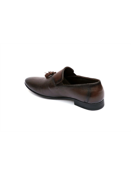 PISTOL - 7902 BROWN LEATHER SHOES