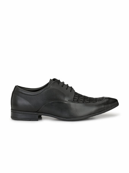 PLAY 2 - 8408 BLACK MATE LEATHER SHOES