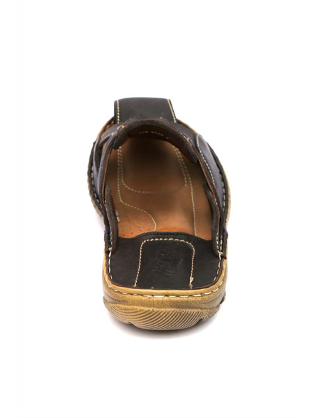 ROUTER - 8508 COCO LEATHER SLIPPERS