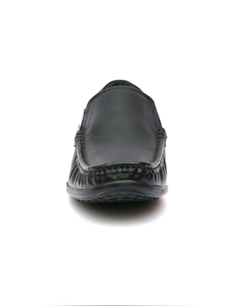 DAZZEL - 852 BLACK LEATHER SHOES