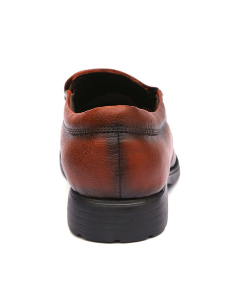 DIPLOMAT - 8852 TOTONE LEATHER SHOES