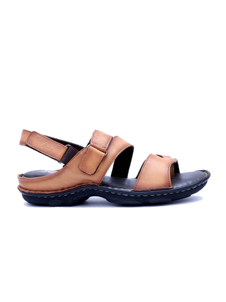 NEW DRAGON - 9218 BEIGE LEATHER SANDALS