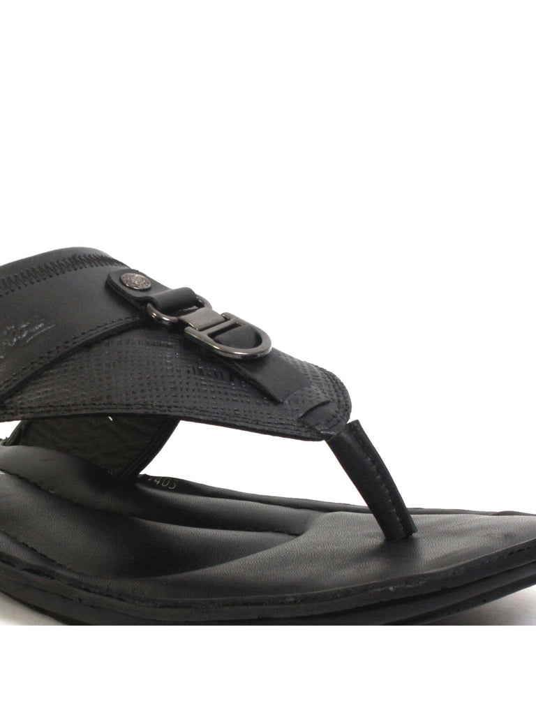 huge selection of 40298 728ee NIKE - 9403 BLACK LEATHER SLIPPERS – Hitz Shoes