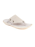 MARCOS - 9771 WHITE LEATHER SLIPPERS