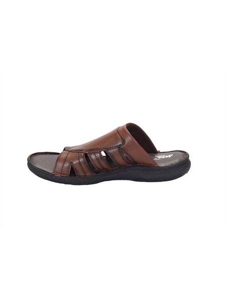 PELLEGRINI - 9802 TAN LEATHER SLIPPERS
