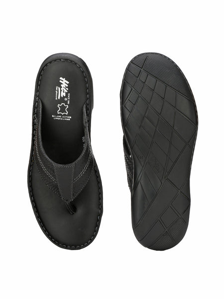 PELLEGRINI - 9814 BLACK MATE SLIPPERS