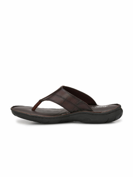 PELLEGRINI - 9814 BROWN REPTILE SLIPPERS