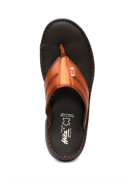 PELLEGRINI - 9814 TAN LEATHER SLIPPERS
